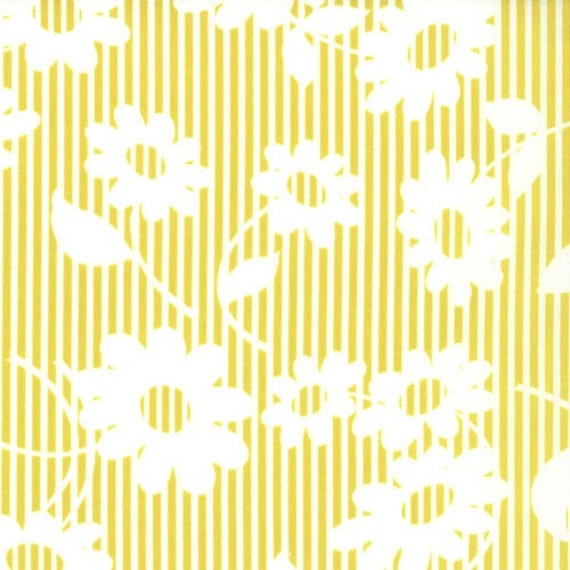 LAST ONE SALE Hullabaloo Fabric by Urban Chiks for Moda Fabrics, Frolic in Citrus-1Yard