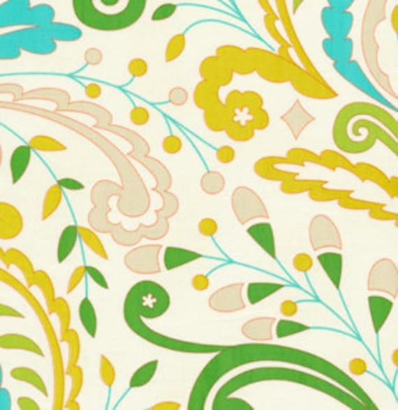 SALE fabric, Boho fabric, Bohemian fabric,  Kumari Garden Fabric by Dena Designs, Sujata in Blue-Cotton Fabric by the Yard, Choose the Cut