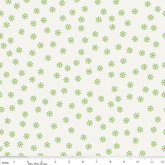 Sale last one sew cherry fabric by lori holt for riley blake for Sewing fabric for sale