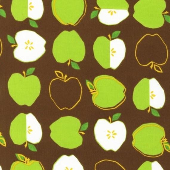 Metro Market Fabric by Robert Kaufman, Metro Apples in Brown-Fat Quarter