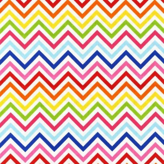 Urban Zoologie, Metro Market and Remix Fabric by Ann Kelle for Robert Kaufman, Zig Zag in Bright-1 Yard