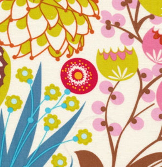LouLouThi Fabric by Anna Maria Horner for Free Spirit, Summer Totem in Tart-Fat Quarter