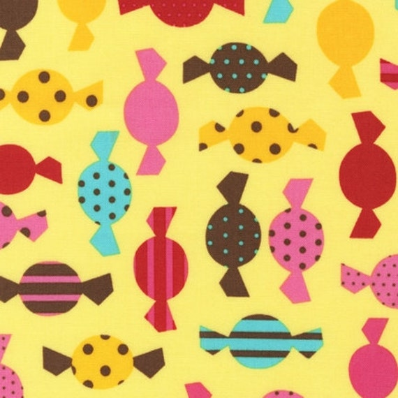 SALE Dessert Party fabric by Ann Kelle for Robert Kaufman - Hard Candy in Summer-1 Yard or by the yard