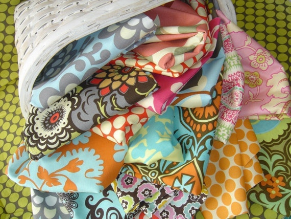 SALE A Surprise In My Mailbox- Scrap pack of designer fabrics