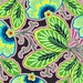 Lark Fabric by Amy Butler for Westminster Fabrics , Floral Couture in Pitch-Fat Quarter