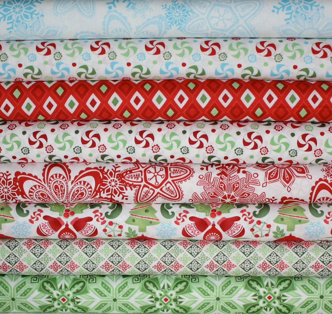Flurry Christmas Fabric By Kate Spain For Moda Fabrics Fat