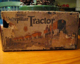 1930s Antique Walbert Toy Wagon with Original Box