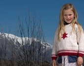 Coconut Ice - Star Sweater by Little Cupcakes - Download Now - Pattern PDF