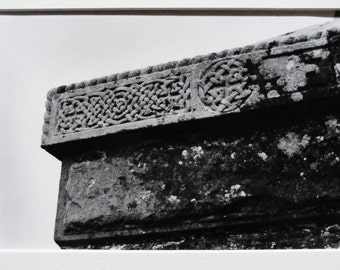Medieval Irish Stone Photograph