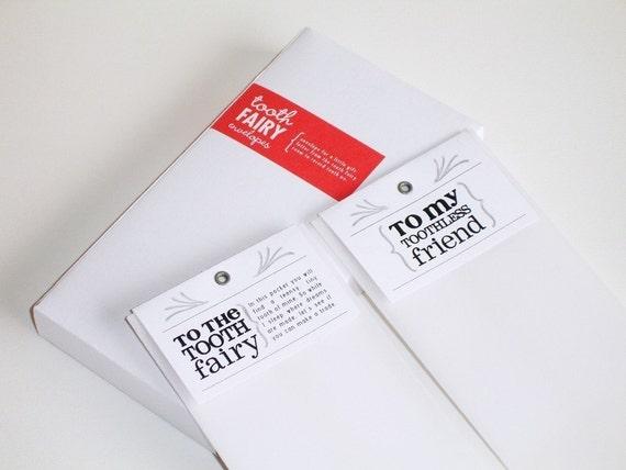 Tooth Fairy Envelopes - 20 pack - I HEART DESIGN AWARD WINNER