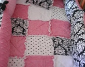 Custom CRADLE Bedding 3 Piece Set Your choice of fabrics MONOGRAMMED