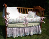 Custom Crib Bedding made with Leanika Boutique 3-Piece Set Your Choice to CUSTOMIZE