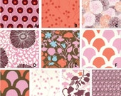 Custom Boutique Sugar Pop in Pink Palette Baby Nursery Complete 4-Piece Crib Bedding Set made with Designer fabric