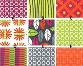 Custom Stockholm Summer Palette Baby Nursery Complete 3-Piece Crib Bedding Set made with Designer fabric