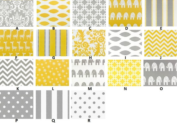 Custom for shaddoxx Baby Registry Just Yellow and Grey options Boutique Crib Sheets