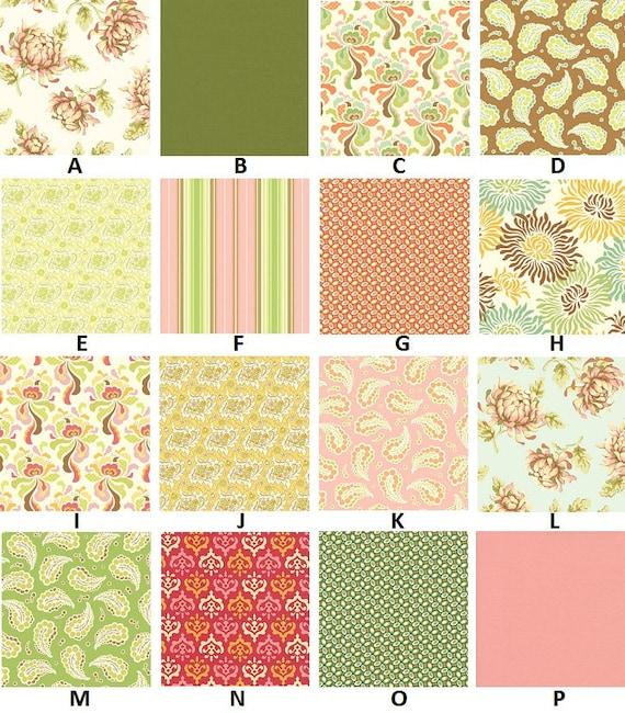 Custom for emilyfretwell Freshcut Watermelon Palette Baby Nursery Complete Crib Bedding Set made with Designer fabric