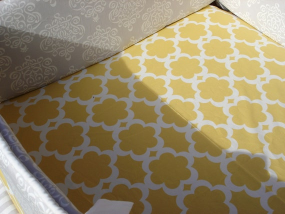 Custom Crib Sheet  SHIPS FREE with any bedding purchase