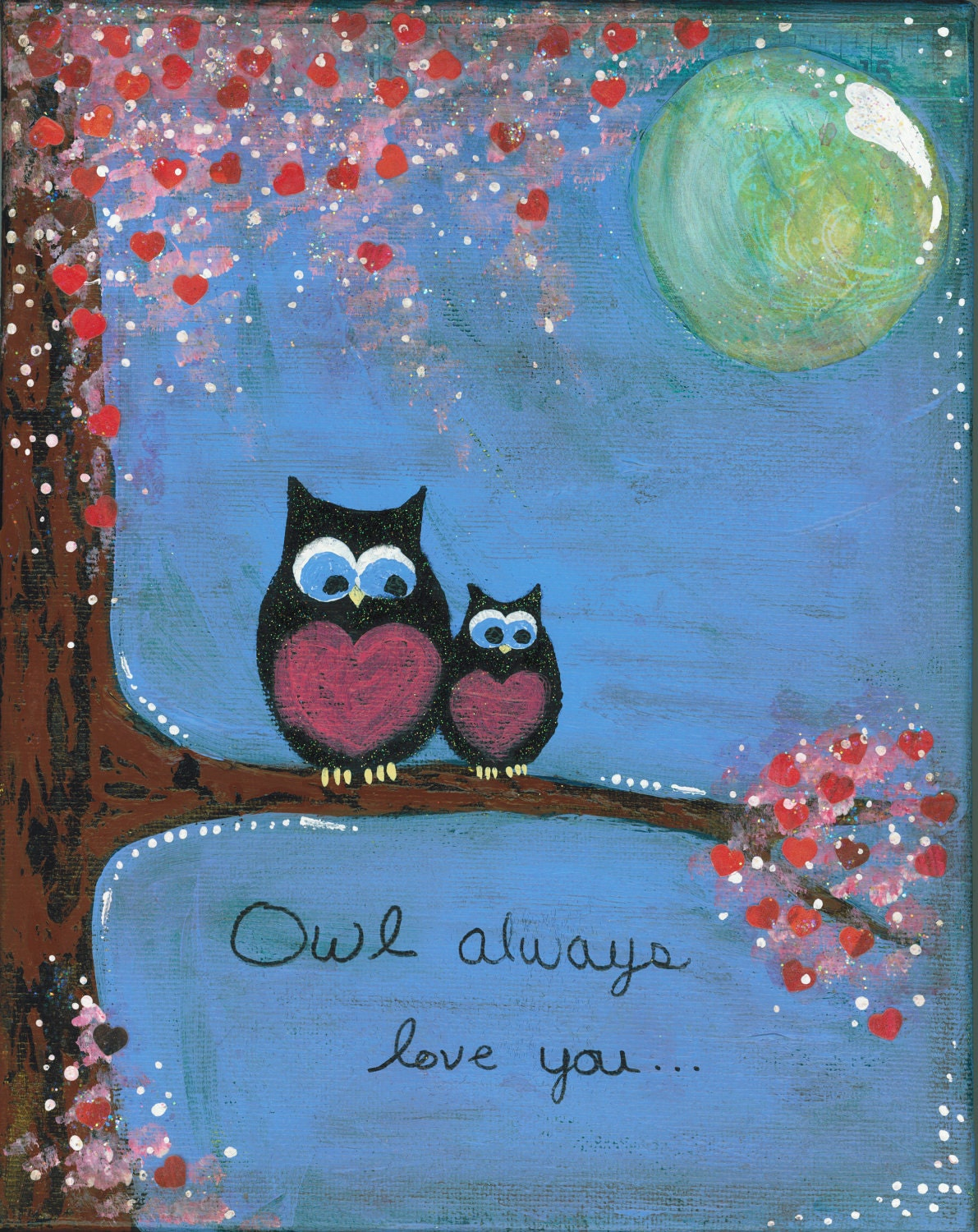 Canvas Painting Whimsy
