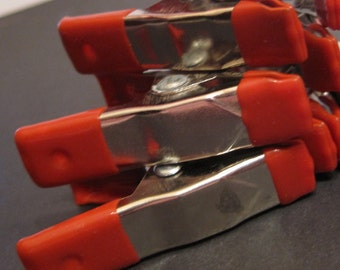 MINI CLAMP - secure your disks when polishing, keep bead stringing from unraveling