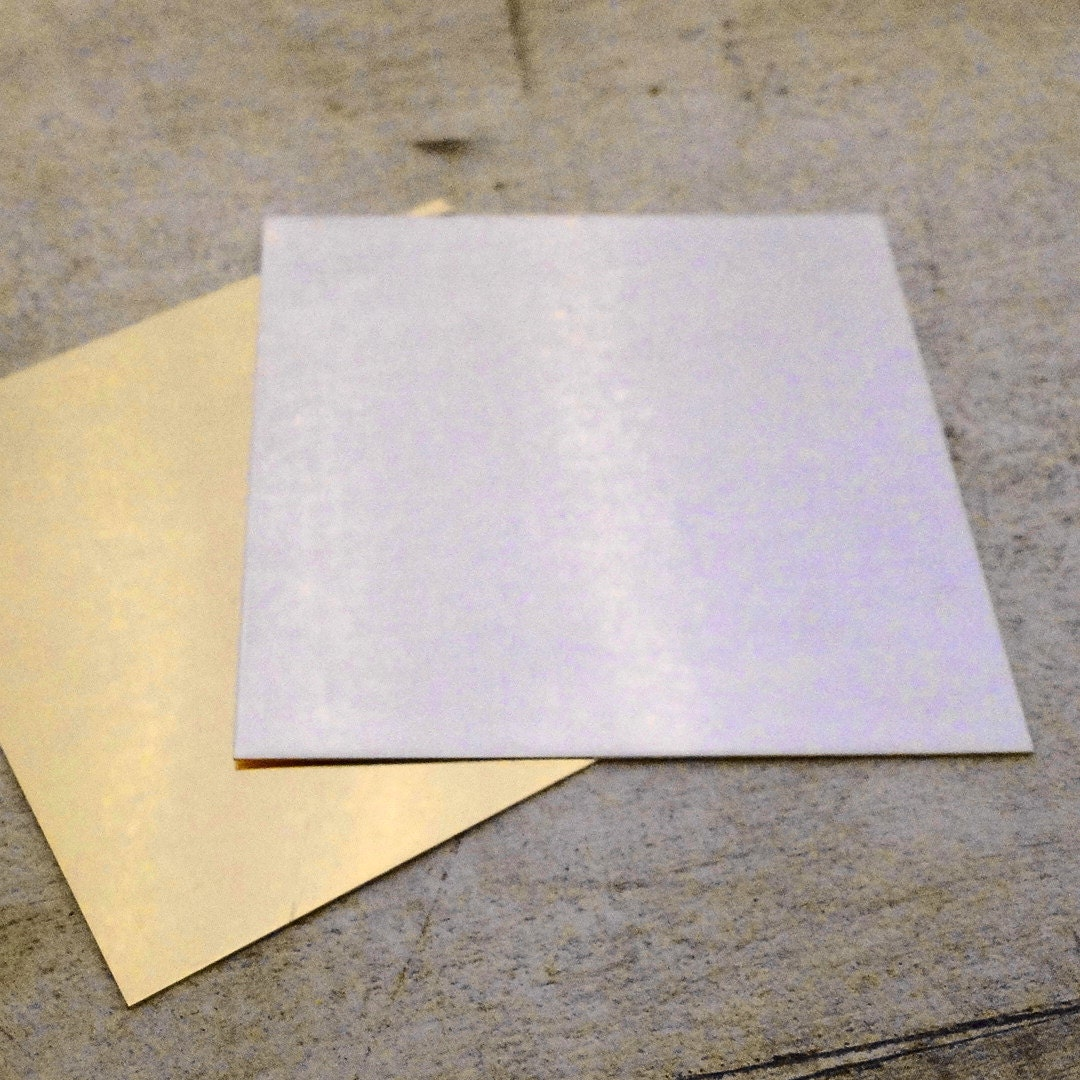 Single Clad 1 10 Sterling Silver Filled Sheet Quantity 1 3