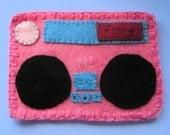 Boom box cosy pink