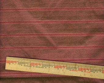 Sale3 Lengths Pure Silk Patterned Fabric  Shades of Brown Lot B