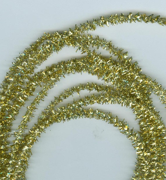 Gold Lametta  Tinsel Roping Cord Fringe Assortment High Quality   Craft Work 5 Pictures