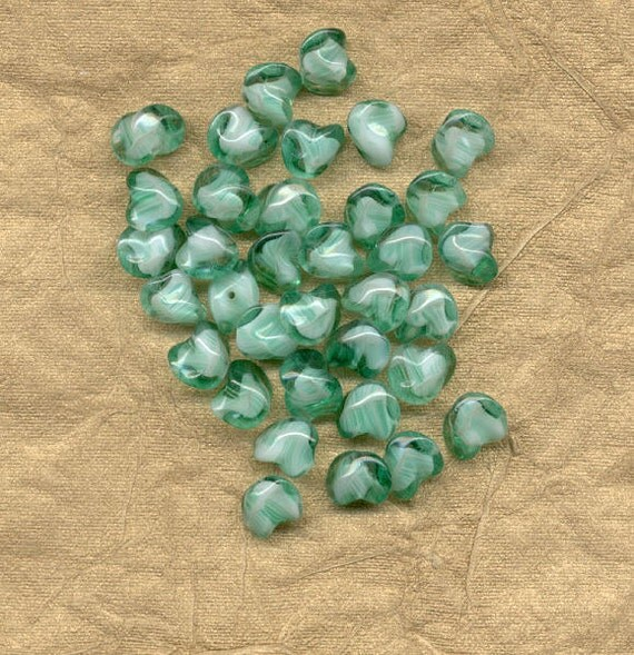 Vintage german glass bead