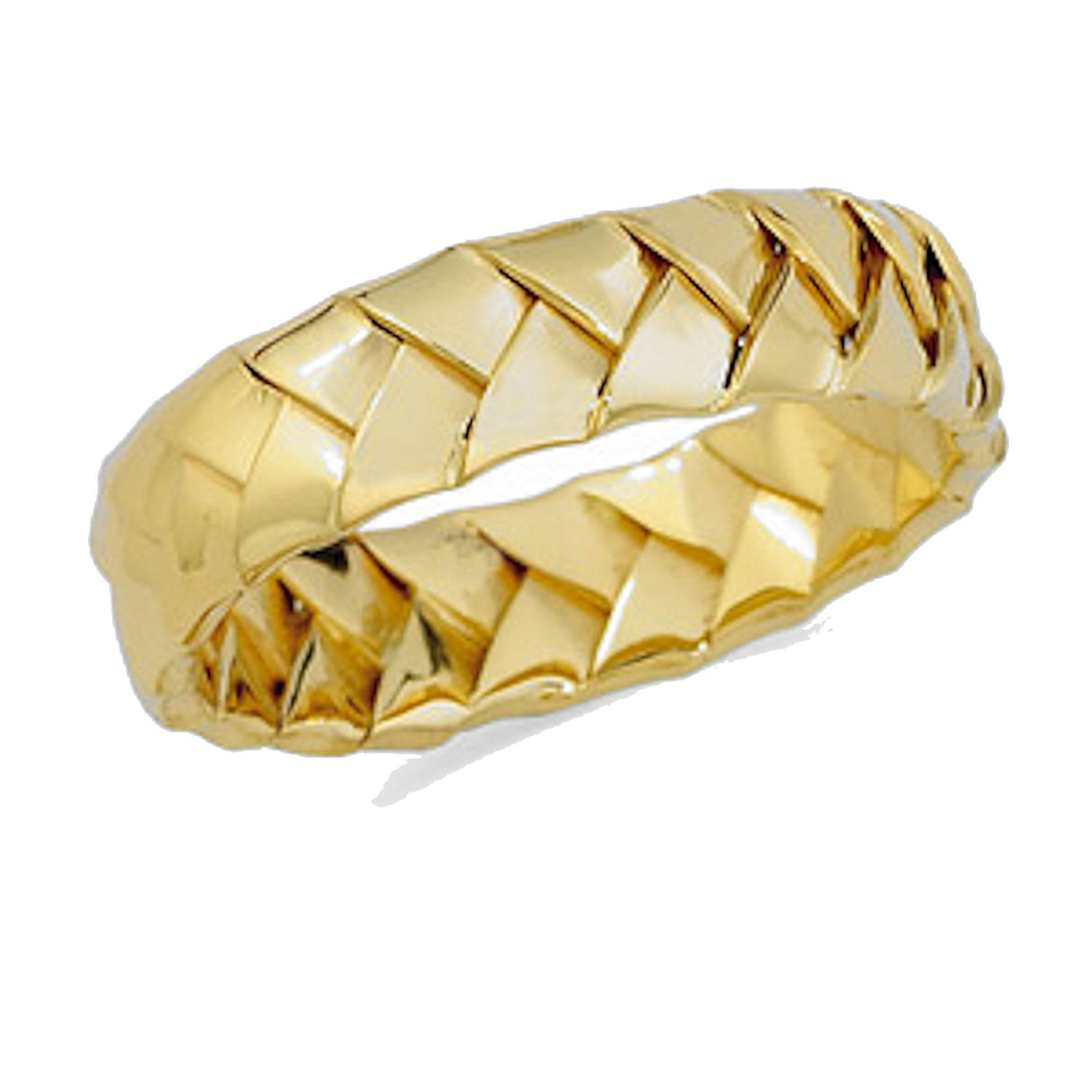 Gold Handwoven Wedding Bands By HershalWiggins On Etsy