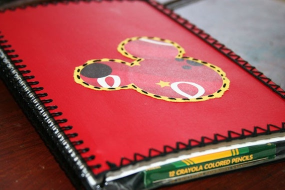 Mickey Mouse Scavenger Hunt Disney Book - Great Memory Scapbook Autograph Album