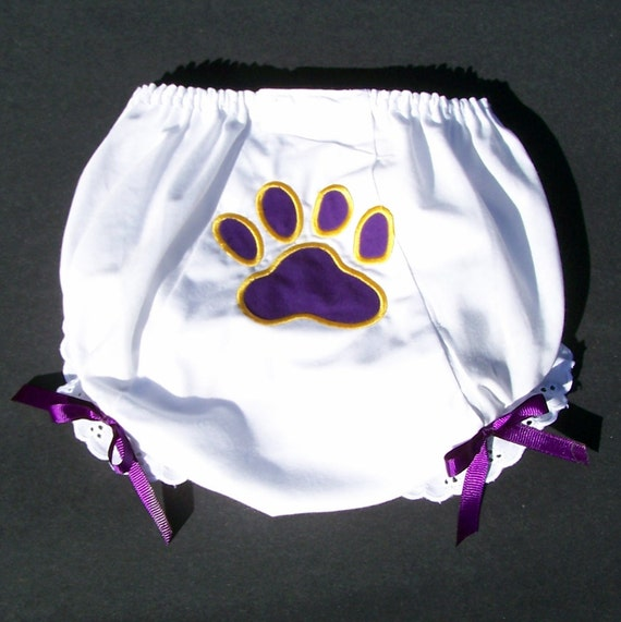 Tiger Paw Print Bloomers customized for your team