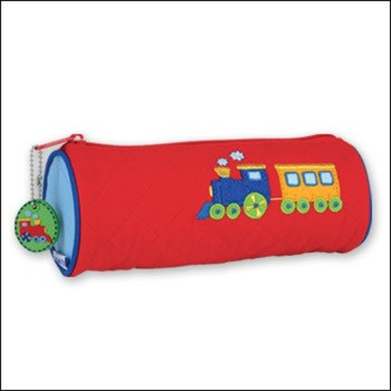 Personalized Stephen Joseph Train Pencil Pouch