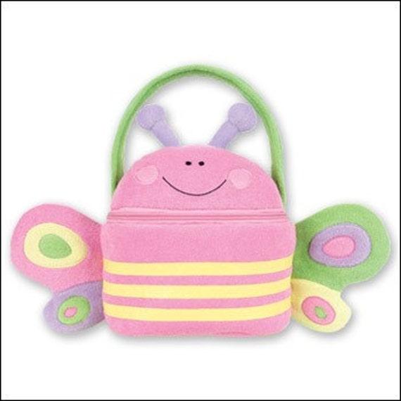 Personalized Stephen Joseph Butterfly Buddy Bag