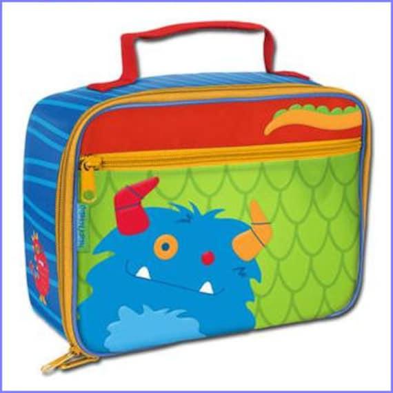 Personalized Stephen Joseph Monster Boy Lunchbox