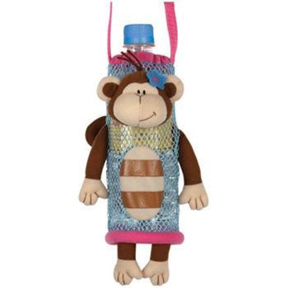Personalized Stephen Joseph Monkey Girl Bottle Buddie