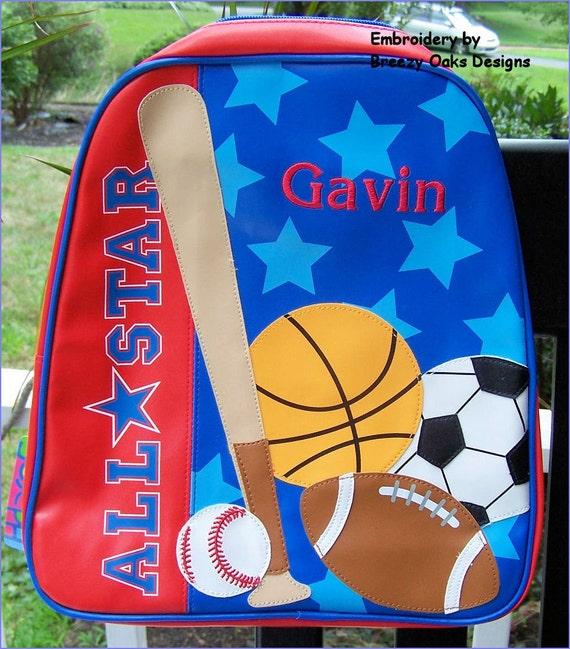 Personalized Stephen Joseph Sports GoGo Bag