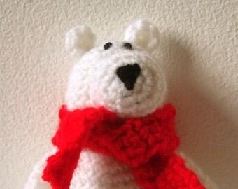 Polar Bear Amigurumi Pattern - Polar Bear Crochet Pattern