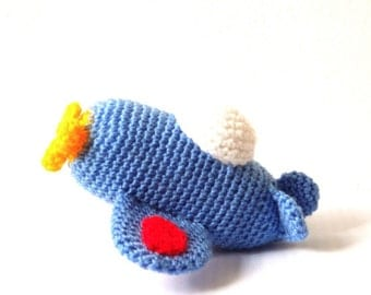 Crochet Airplane Pattern