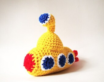Crochet Pattern - Yellow Submarine - PDF Amigurumi Pattern