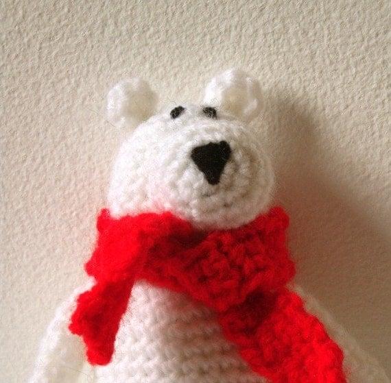 Free Amigurumi Crochet Patterns Fox : Polar Bear Amigurumi Pattern Polar Bear Crochet Pattern