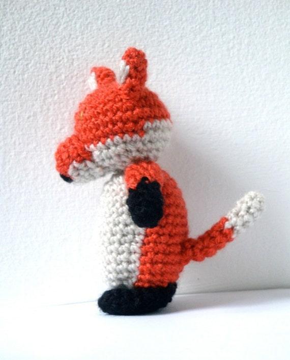 Fox Crochet Pattern - Fox Amigurumi Pattern from ...