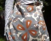 greyflower REversible shoulder bag