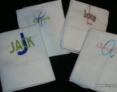 Personalized Pillowcase for Kids Name and Initial Pillow case