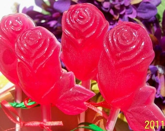 Bouquet of Red Roses SoapSicles