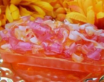 Blood Orange Pomegrante Soap Bar