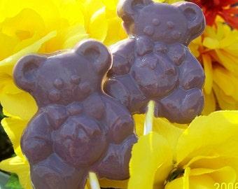 Chocolate TeddyBear SoapSicles