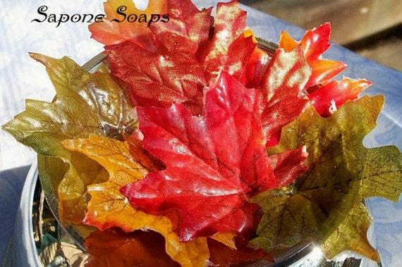 Fall Leaves Soap Petals - 20 count