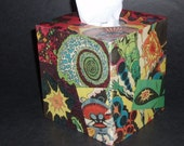 Crazy Space Freak Out End of the Universe Tissue Box Cover