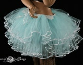 Alice pretty little frills tutu skirt adult ruffles halloween costume dance petticoat --Large -Ready to ship -Sisters of the Moon