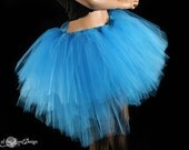 Ultra Turquoise Ring Master tutu skirt huge poofy adult wedding bridal costume dance ballet -- You Choose Size -- Sisters of the Moon